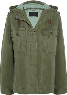 J.Crew Hooded cotton-twill jacket