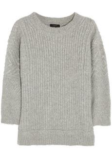 J.Crew Ribbed-knit alpaca-blend sweater