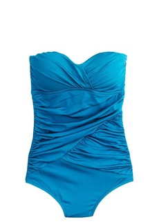 Jersey Lomellina® ruched wrap tank