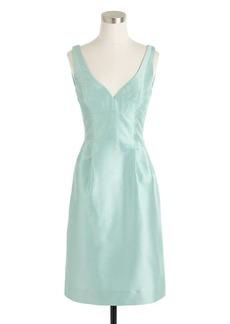 Karlie dress in silk dupioni