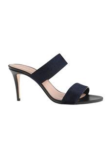 Lena calf hair sandals