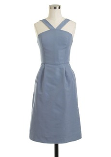 Lexie dress in classic faille
