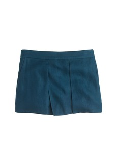 Linen crossover short