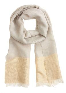 Linen diamond scarf
