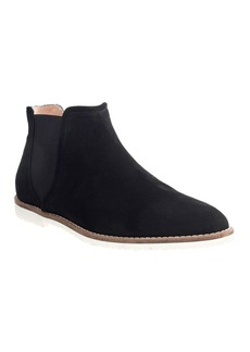 Low chelsea boots