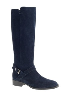 Lowell suede buckle boots