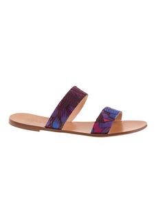 Malta fabric sandals