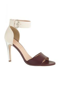 Marbella colorblock heels