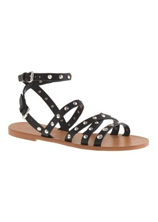 Maren studded cross-strap sandals