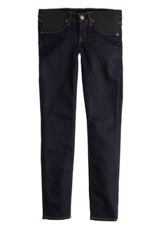 Maternity toothpick jean in classic rinse