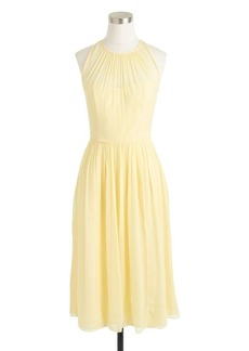 Megan dress in silk chiffon