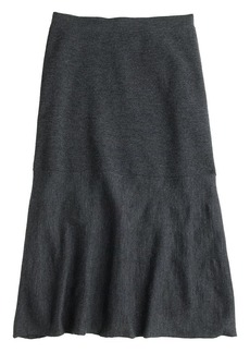 Merino wool skirt
