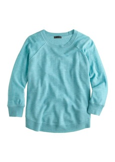 Merino wool swing sweater