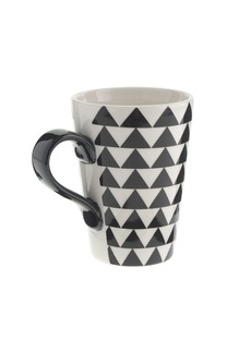 Metallic latte mug