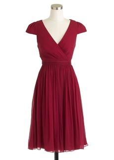 Mirabelle dress in silk chiffon