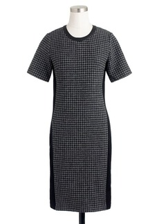 Mixed houndstooth dress