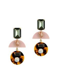 Mixed resin earrings