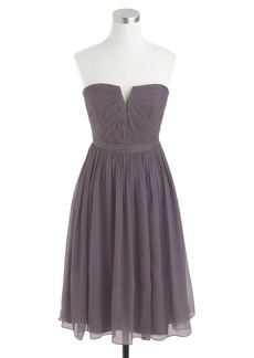 Nadia dress in silk chiffon