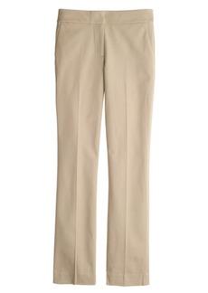 New Campbell capri pant in bi-stretch cotton