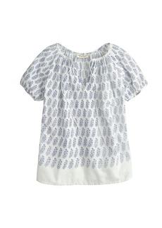 Nili Lotan® printed Rebecca top