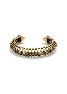 Open-cage cuff bracelet