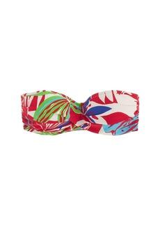 Paradise floral underwire bikini top