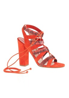 Paul Andrew™ for J.Crew lace-up high-heel sandals