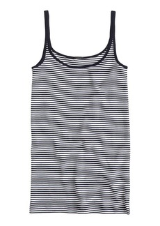 Perfect-fit tank in stripe
