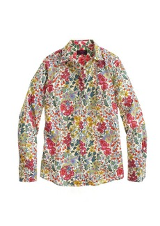 Perfect shirt in Liberty Edna floral