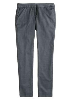 Paley pant in pinstripe Super 120s wool