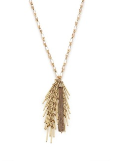 Pine needle necklace