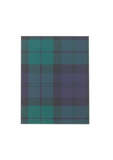 Plaid mini notebook
