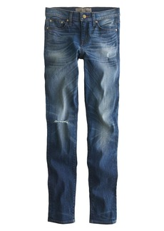 Point Sur epic skinny Japanese selvedge jean in Dailey wash