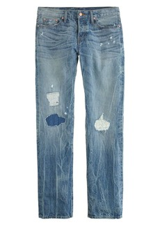 Point Sur x-rocker boyfriend jean in destroyed klutey wash