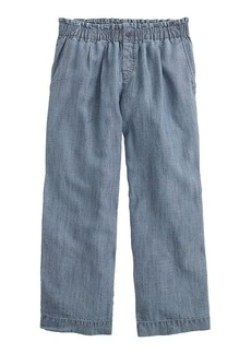 Pull-on Tencel®-linen pant