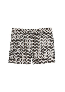 Punched-out eyelet short