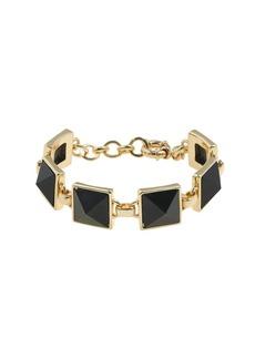Pyramid stone bracelet