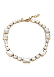 Rectangle gem necklace