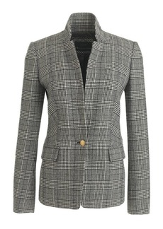 Regent blazer in glen plaid