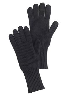 Ribbed gloves