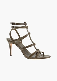 Ringed gladiator high-heel sandals