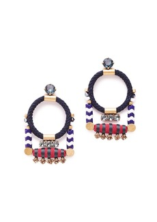 Rope cord earrings