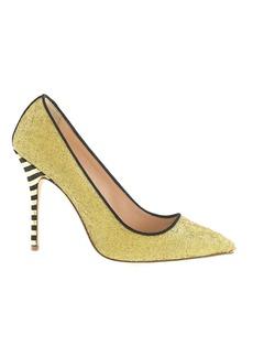 Roxie glitter pumps