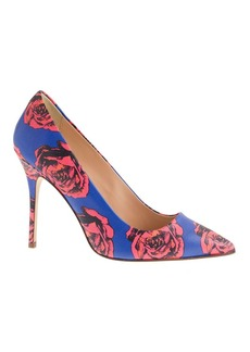 Roxie printed leather pumps