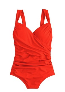 Ruched wrap tank