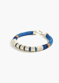 Sailor rope collar necklace