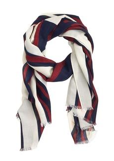 Scaled stripe scarf