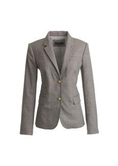 Schoolboy blazer in wool flannel