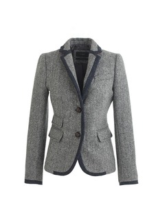 Schoolboy tipped blazer