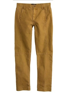 Seamed military pant